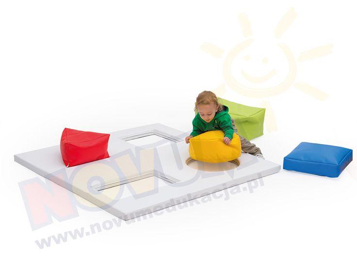 NOVUM - Materac sensoryczny Figury  #novum #novumedukacja #kids #forkids