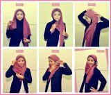 Cara Paling Kece Pakai Jilbab Segi Empat yang Simple dan Modis