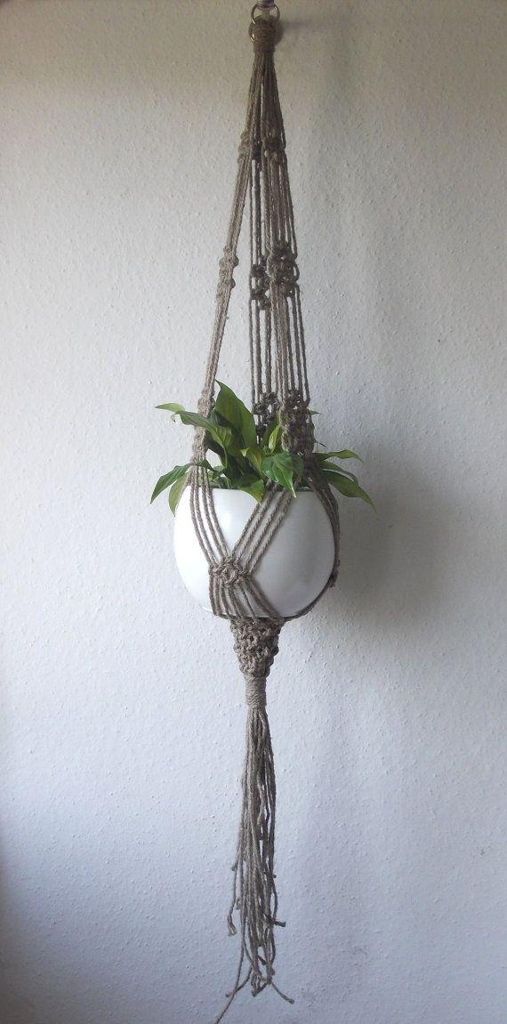 1000 ideas about pot hanger on pinterest pot racks pot - Porte plante d interieur ...