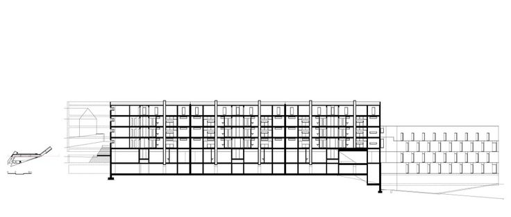 Salgueiros Social Housing_Section