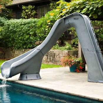 Typhoon Pool Slide | No Place Like Home in 2019 | Swimming ...