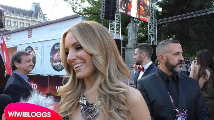 Eurovision 2015 red carpet: Edurne (Spain) interview   wiwibloggs