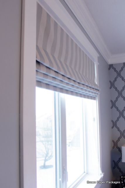 How To Make Custom Roman Shades