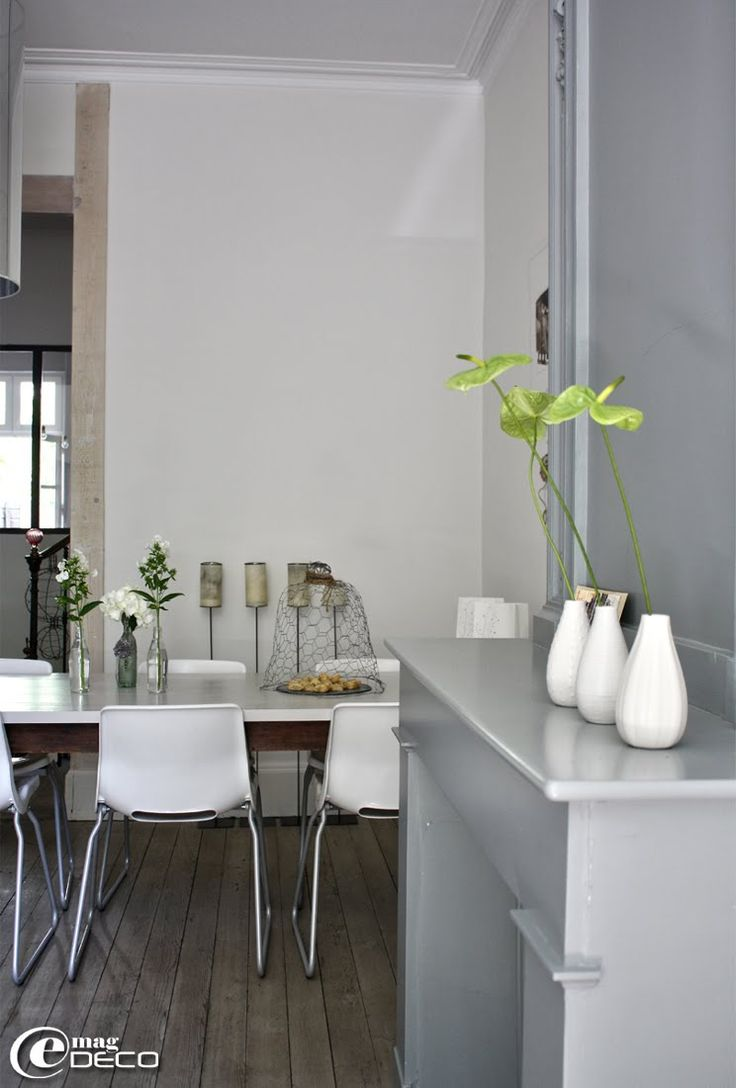 1000 id es sur le th me table repeinte sur pinterest - Chaises bistrot ikea ...