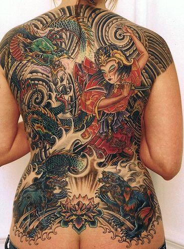 17 best images about yakuza women on pinterest back for Female yakuza tattoo