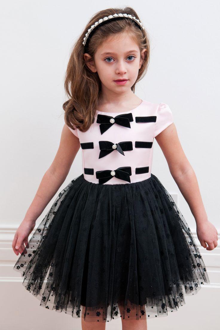 Розовый и черный смокинг Стиль платье