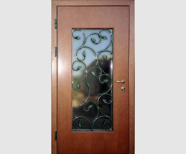 Мой дом - моя крепость!: Cтальные двери облицованные панелями МДФ