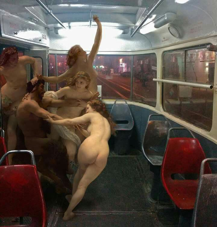 Ukrainian artist Alexey Kondakov inserts high brow art history into grittier everyday places.