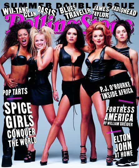 loved the spice girls