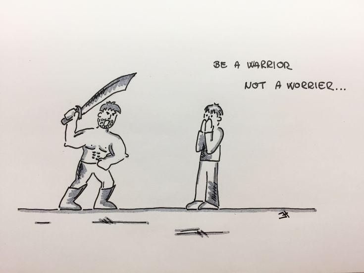 Be a warrior, not a worrier... #jh #motivation #beawarrior #notaworrier #beawarriornotaworrier #fightforit #nevergiveup #bestrong #moveforward #itisworthit
