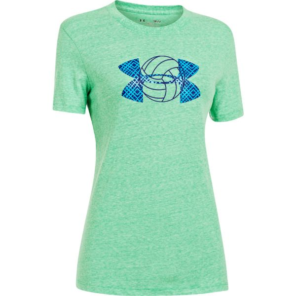 Under Armour Big Logo T-shirt in Green