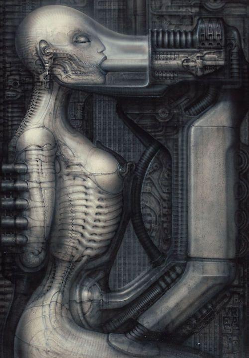 Biomechanoid III by HR Giger