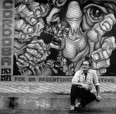 Ricardo Carpani, pintor argentino, dueño de un estilo inconfundible, debido a la potencia de sus imágenes.