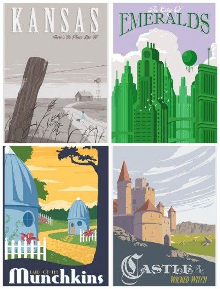 Kansas, Ciudad Esmeralda, Pequeñilandia y el castillo de la bruja