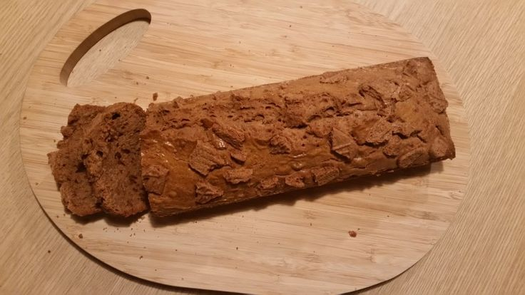 Spelt Speculaas cake
