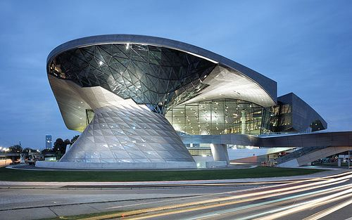 BMW Welt | Architect: Coop Himmelb(l)au  | Location: Munich, Germany | Principal in  Charge: Wolf D. Prix | Project Architects: Paul Kath