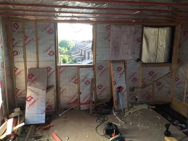 Celotex Tuff R Insulation : Celotex insulation boards for a manchester loft conversion