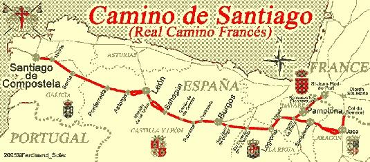 Camino de Santiago de Compostela Pilgrimage Spain - my dream! http://www.caminodesantiago.me.uk/ http://americanpilgrims.com/camino/route_overviews.html http://www.santiago-compostela.net/