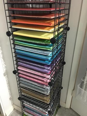Craft Room Storage Ideas Craft Paper Storage Craft Room Storage Paper Storage