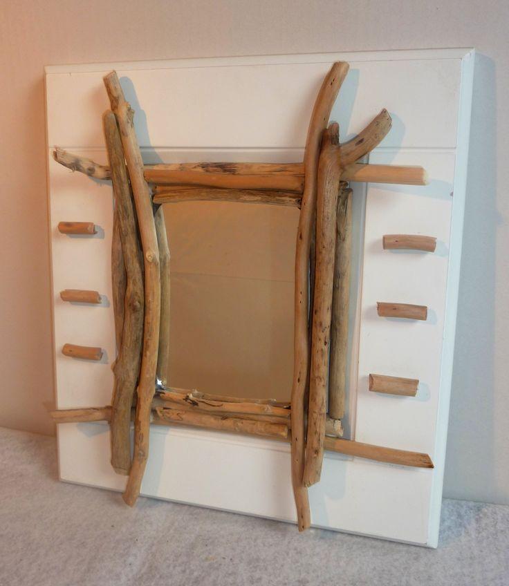 17 meilleures images propos de miroirs bois flott sur for Miroir bois flotte