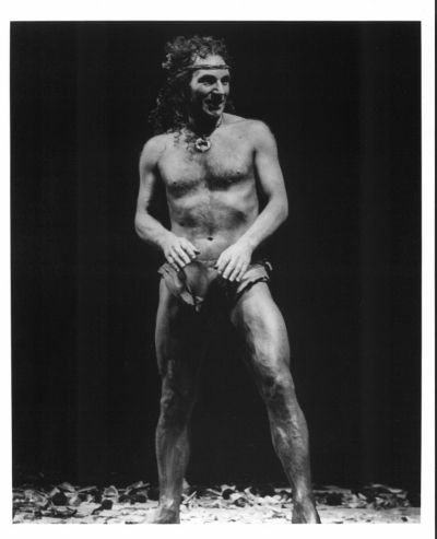 A young Patrick Stewart in a production of A Midsummer Nights Dream - seems legit for Jean Luc too