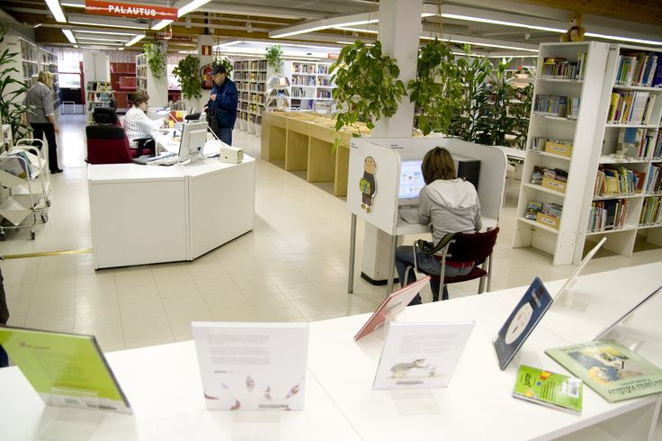Koivuhaan kirjasto / Björkhagens bibliotek Photo by Joni Virtanen