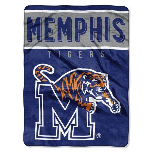 Memphis Tigers Blanket 60x80 Raschel Basic Design