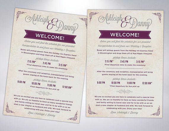Wedding Transportation Card Wedding Shuttle Transportation Wedding Transportation Hotel Card Wedding Reception Cards