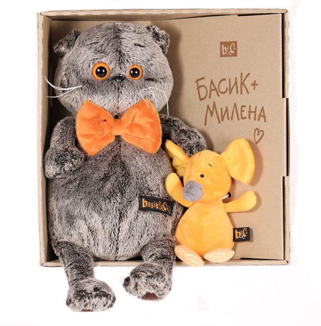 Кот Басик с мышкой Миленой - Кот Басик - купить в интернет-магазине Киндерама