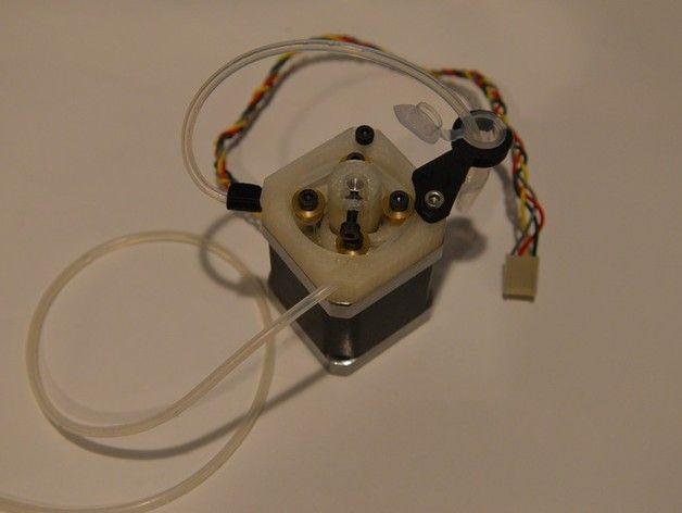 NEMA-17 Peristaltic Pump V2 by CopabX - Thingiverse