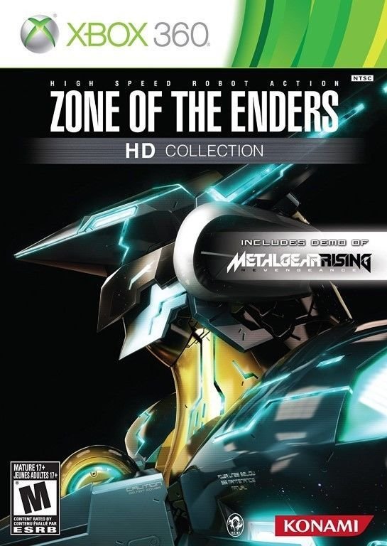 Zone of the Enders HD Collection Xbox 360, 2012 BRAND NEW SEALED w/MSCOA, Konami