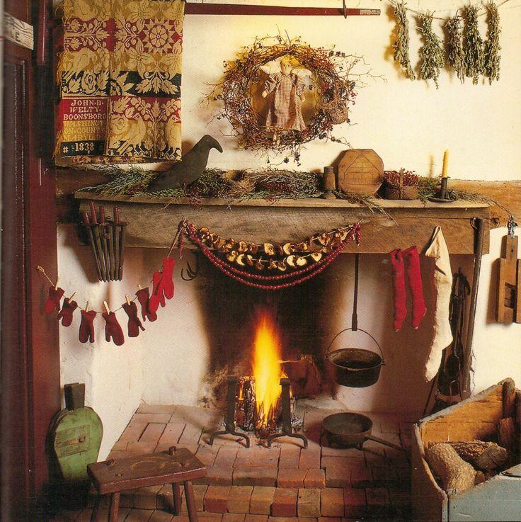 Colonial Primitive Decorating Ideas: 614 Best Images About Primitive/ Colonial Interiors On