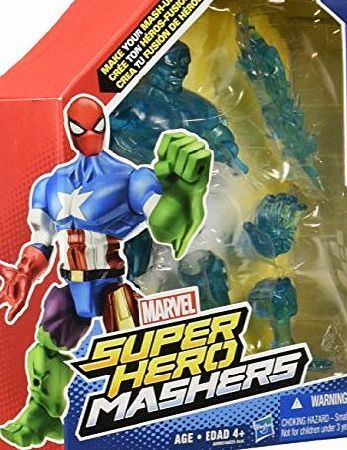 Marvel Super Hero Mashers Toy - Iceman 6 Inch Action Figure - X-Men Make your own hero mash up with this customizable Iceman figure He looks just like the super chill superhero But what if Iceman had even more powers like a Doctor Doom ar (Barcode EAN = 0885664846481) http://www.comparestoreprices.co.uk/december-2016-week-1-b/marvel-super-hero-mashers-toy--iceman-6-inch-action-figure--x-men.asp