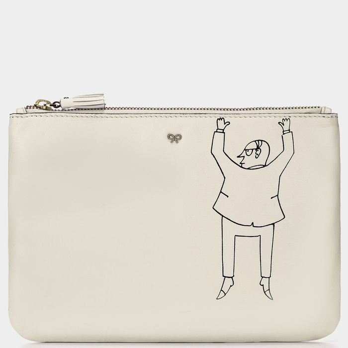 Anya Hindmarch Escapist zip-top pouch