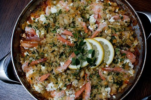 Easy Roasted Tomatoes And Shrimp With Feta, Oregano, And Fennel Recipe ...