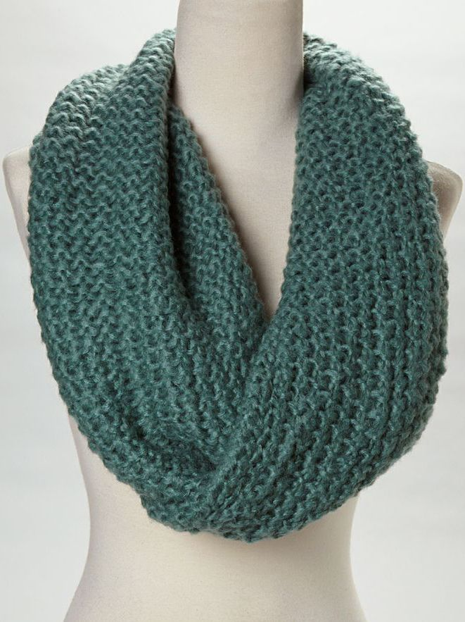teal knit infinity scarf scarves