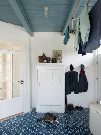 Laundry room, Æblegaarden B&B, Langeland, Denmark, www.aeblegaarden.dk Photo by Alex Tran