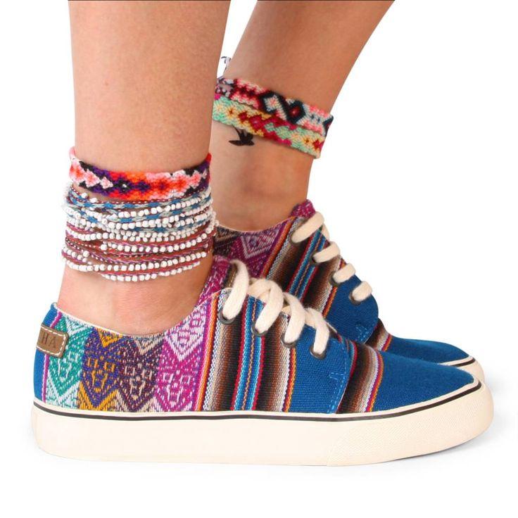 Koop deze Mipacha zomer schoenen, prachtige kleurrijke sneakers voor in de zomer. Ga snel naar de webshop om de boho chic Mipacha schoenen te kopen