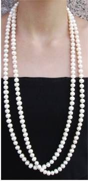 21 Ways to Wear a  Pearl Necklace !