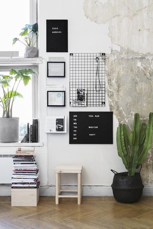 Relaxed wall inspiration from Sweden (and a little shopping....)