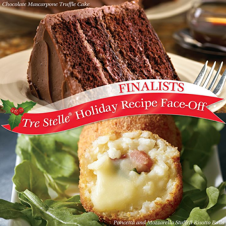It's the final round of our Holiday Recipe Face-Off! Click on this image to vote for your favourite Tre Stelle recipe to win $25 in Tre Stelle grocery vouchers! Re-pin this image for an extra entry!