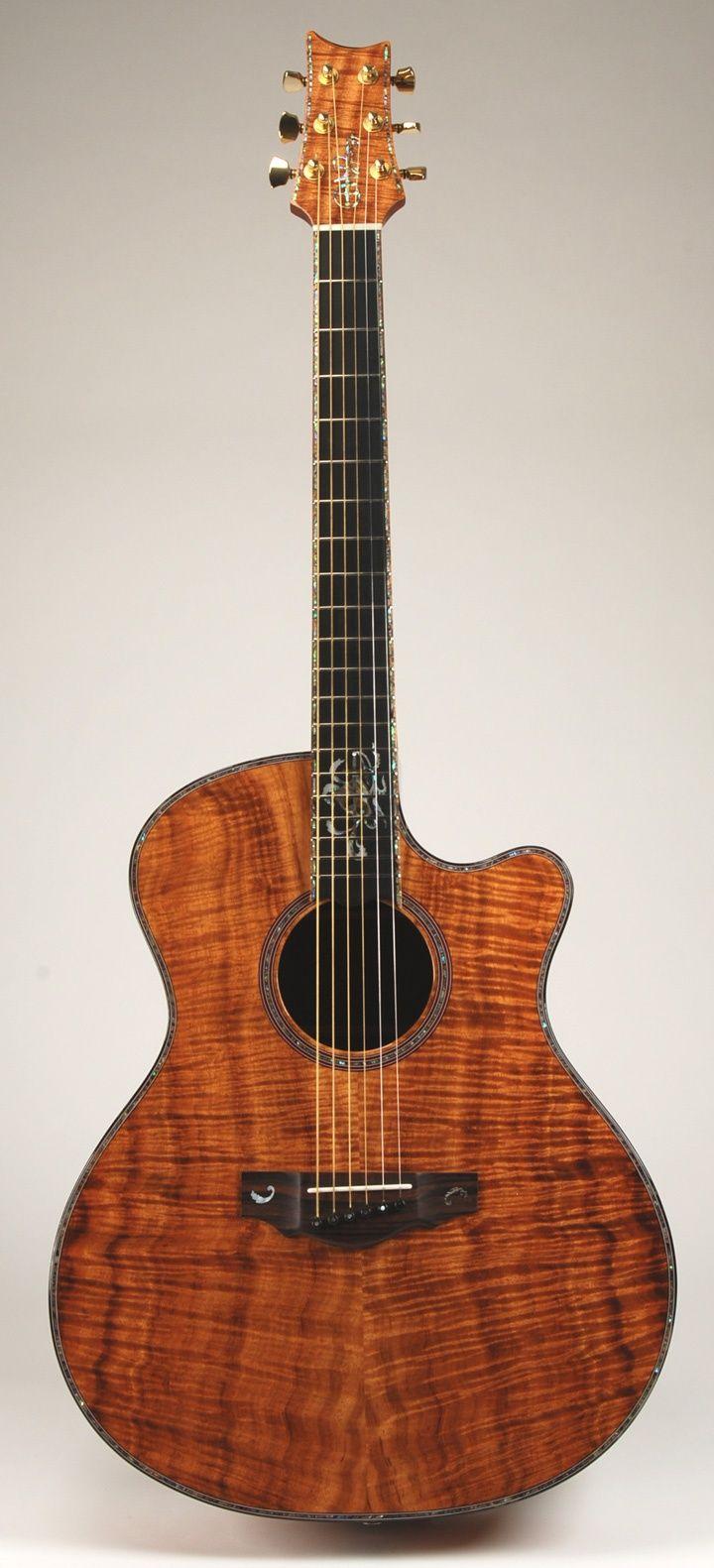 Dovetail template printable guitar - Warrior Custom Shop Acoustic