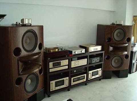 Rey Audio Kinoshita RM-7 monitors with Accuphase ...