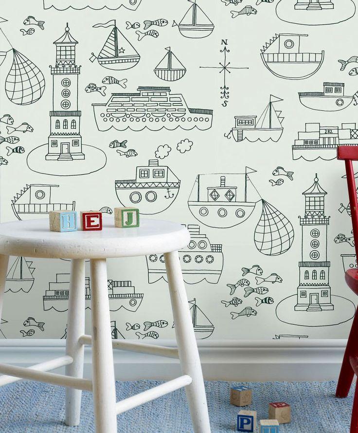 25 best papel pintado infantil ideas on pinterest papel - Papel pintado infantil ...
