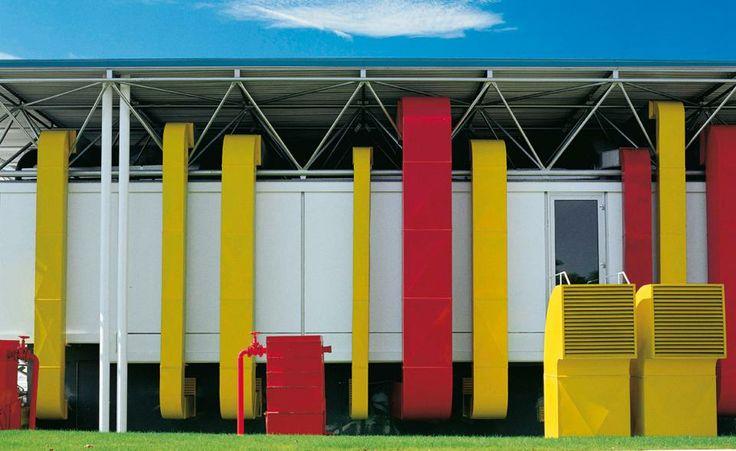 40th birthday for B&B Italia headquarter La sede B&B Italia firmata Renzo Piano e Richard Rogers - Living