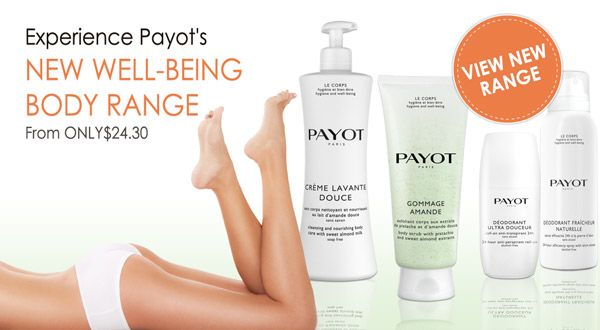 PAYOT New Body Care - A moment of softness for your skin.  Experience it today.  #payot #bodyrange #newbody #wellbeing #skincare #paris #beautyblog #absoluteskinau