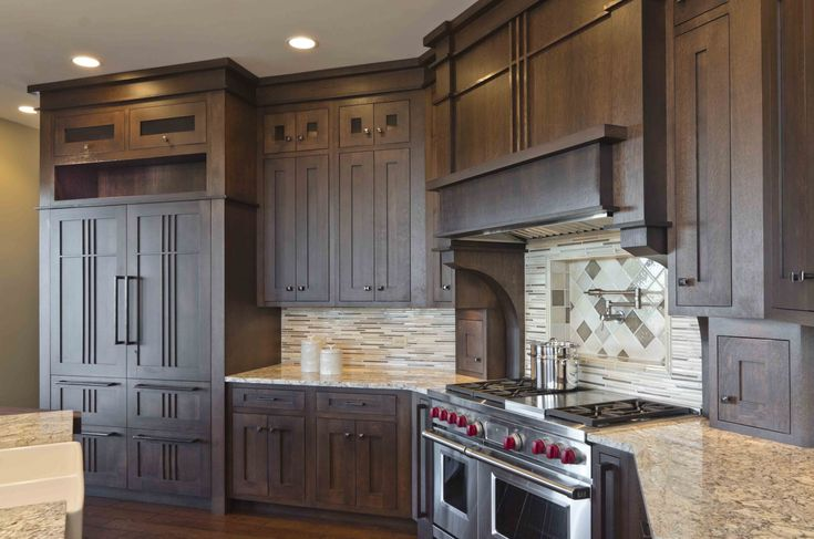 17 best images about prairie style on pinterest craftsman cabinets and craftsman kitchen for Prairie style kitchen design