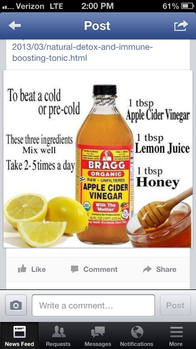 Remedy for sore throat