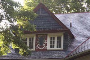 Fix the every two feet problem by making just one dormer but making it 6 ft. wide, 2 ft. window + 2 ft. center + 2 ft. window or just 3 all three in windows - with trusses showing on inside