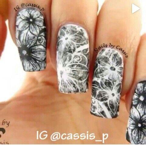Hermosas y parecen difíciles pero no, son hechas con plantilla!